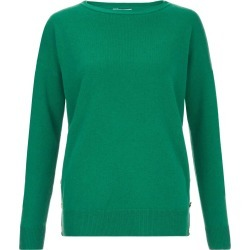 Dawn Wool Blend Sweater Emerald found on Bargain Bro UK from Hobbs