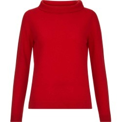 Audrey Wool Blend Sweater Red found on Bargain Bro UK from Hobbs