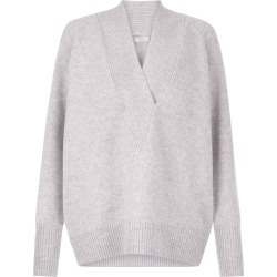 Brielle Wool Blend Sweater Grey found on Bargain Bro UK from Hobbs