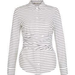 Angelica Shirt White Navy found on Bargain Bro UK from Hobbs