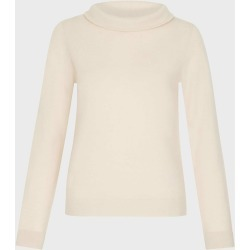 Audrey Wool Cashmere Sweater Oatmeal Marl found on Bargain Bro UK from Hobbs