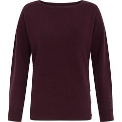 Dawn Wool Cashmere Sweater Aubergine found on Bargain Bro UK from Hobbs