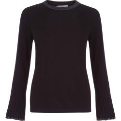 Helen Merino Wool Sweater Black found on Bargain Bro UK from Hobbs