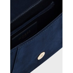 Cartmel Suede Clutch Bag Midnight found on Bargain Bro UK from Hobbs