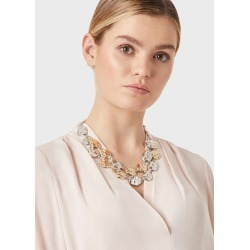 Hayley Necklace Silver Gold found on Bargain Bro UK from Hobbs
