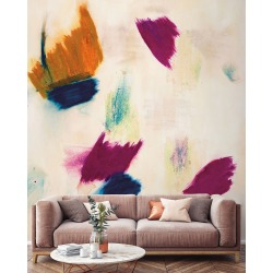Arabella Removable Wallpaper Mural found on Bargain Bro India from horchow.com for $640.00