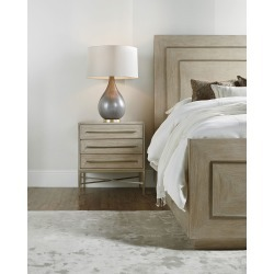 Cascade Three-Drawer Nightstand found on Bargain Bro India from horchow.com for $1319.00