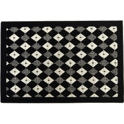 Harlequin Rug, 2' x 3' found on Bargain Bro India from horchow.com for $75.00