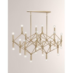 Milano Chandelier found on Bargain Bro India from horchow.com for $4430.00