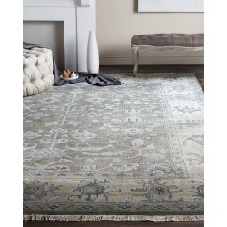 Micah Oushak Hand Knotted Rug, 10' x 14' found on Bargain Bro from horchow.com for USD $3,723.24