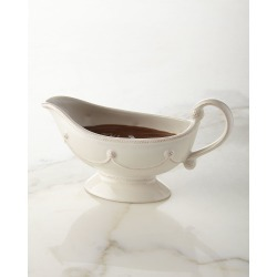 Berry & Thread Whitewash Sauce Boat found on Bargain Bro India from horchow.com for $68.00
