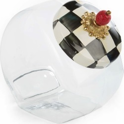 Courtly Check Cookie Jar found on Bargain Bro India from horchow.com for $58.00