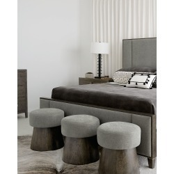 Linea Round Bench found on Bargain Bro India from horchow.com for $809.00
