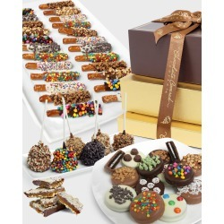 Deluxe Chocolate Covered Gift Tower found on Bargain Bro India from horchow.com for $78.00