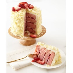 Strawberry Layer Cake, For 6-8 People found on Bargain Bro India from horchow.com for $70.00