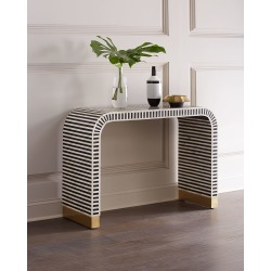 Beacon Bone Inlay Console Table found on Bargain Bro from horchow.com for USD $2,545.24
