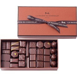 63-Piece Coffret Maison Dark Chocolate Box found on Bargain Bro Philippines from horchow.com for $130.00