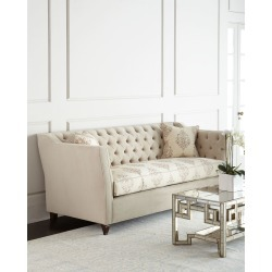 Couture Tufted Sofa found on Bargain Bro from horchow.com for USD $3,495.24