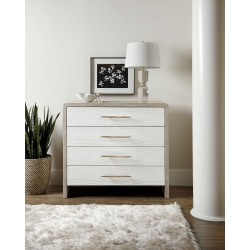 Cascade Four-Drawer Bachelor Chest found on Bargain Bro India from horchow.com for $1979.00