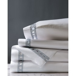 Celine Silver King Sheet Set found on Bargain Bro from horchow.com for USD $549.48