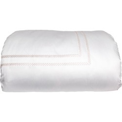 Simone Queen Duvet Cover, White/Ivory found on Bargain Bro India from horchow.com for $763.00