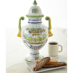Biscotti Farnese Bandiera Jar found on Bargain Bro India from horchow.com for $320.00