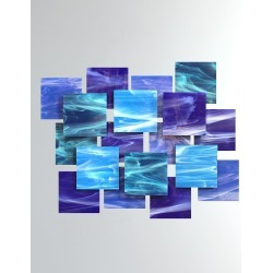 Cascade Glass Wall Sculpture found on Bargain Bro India from horchow.com for $1950.00