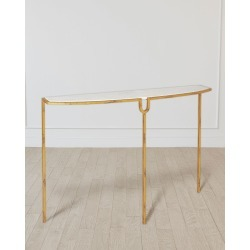 Gold Curve Console found on Bargain Bro from horchow.com for USD $482.60