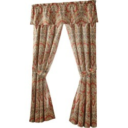 Harrogate Lined Curtain Panels with Back Ties, Set of 2 found on Bargain Bro India from horchow.com for $165.00