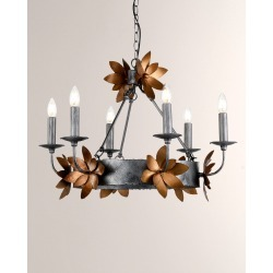 Simone 6-Light Chandelier found on Bargain Bro India from horchow.com for $1130.00