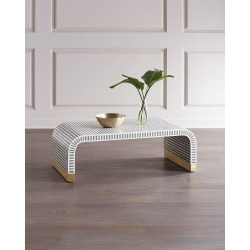 Beacon Bone Inlay Coffee Table found on Bargain Bro from horchow.com for USD $2,811.24