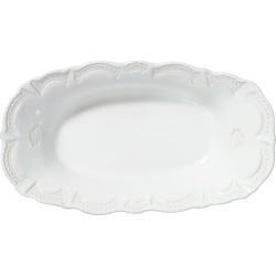 Incanto Stone Lace Large Au Gratin, White found on Bargain Bro India from horchow.com for $118.00