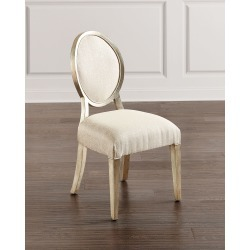 Romantique Oval Side Chairs, Set of 2 found on Bargain Bro from horchow.com for USD $1,580.04
