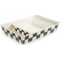 Courtly Check Baking Pan, Rectangular found on Bargain Bro India from horchow.com for $92.00