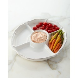 Berry & Thread Crudite Platter found on Bargain Bro India from horchow.com for $98.00
