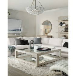 Cascade Collection Square Coffee Table found on Bargain Bro India from horchow.com for $2309.00