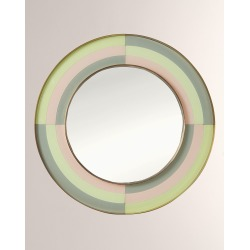 Harlequin Round Mirror found on Bargain Bro India from horchow.com for $1250.00