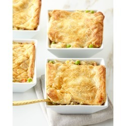 Chicken Pot Pies, For 4 People found on Bargain Bro Philippines from horchow.com for $78.00