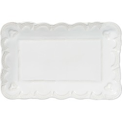 Incanto Stone Lace Small Rectangular Platter, White found on Bargain Bro India from horchow.com for $136.00