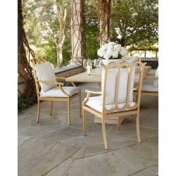 Savannah Collection Dining Chair found on Bargain Bro from horchow.com for USD $604.20