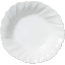 Incanto Stone Ruffle Pasta Bowl, White found on Bargain Bro India from horchow.com for $50.00