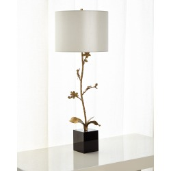 Brass Orchid Candlestick Buffet Lamp found on Bargain Bro Philippines from horchow.com for $1445.00