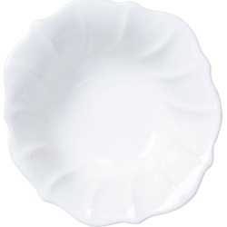 Incanto Stone Ruffle Cereal Bowl, White found on Bargain Bro India from horchow.com for $50.00