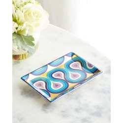 Milano Rectangle Tray found on Bargain Bro India from horchow.com for $78.00