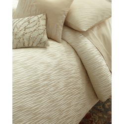 Gold Dust King Duvet Cover found on Bargain Bro from horchow.com for USD $437.00