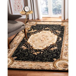 Aubusson Night Rug, 5' x 8' found on Bargain Bro India from horchow.com for $549.00