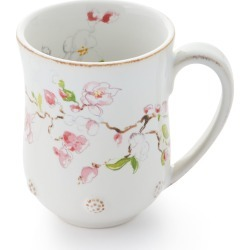 Berry & Thread Floral Sketch Cherry Blossom Mug found on Bargain Bro India from horchow.com for $34.00