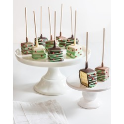 Christmas Cheesecake Belgian Chocolate Covered Pops found on Bargain Bro India from horchow.com for $42.00
