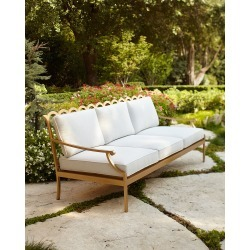 Savannah Collection Sofa found on Bargain Bro from horchow.com for USD $1,938.00