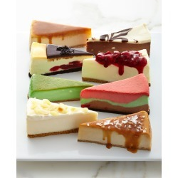 16-Slice Cheesecake Sampler found on Bargain Bro Philippines from horchow.com for $120.00